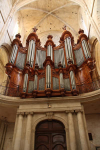 Isnard organ of St Maximin