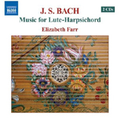 J.S. Bach - Music for Lute-Harpsichord