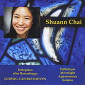 Beethoven - Shuann Chai (fortepiano)