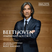 BEETHOVEN - Symphonies Nos 1 and 7