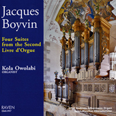 JACQUES BOYVIN - Four Suites from the Second Livre d'Orgue