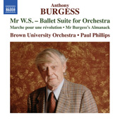 ANTHONY BURGESS - Orchestral Music