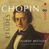 FREDERIC CHOPIN - Etudes - Hardy Rittner