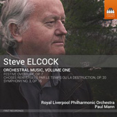 STEVE ELCOCK - Orchestral Music Vol. 1