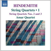 PAUL HINDEMITH - String Quartets Vol. 1
