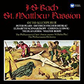 JS Bach - St. Matthew's Passion - Otto Klemperer (Conductor)