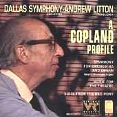 AARON COPLAND - SYMPHONY FOR ORGAN AND ORCHESTRA
