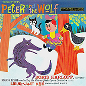 SERGEI PROKOFIEV - PETER & THE WOLF