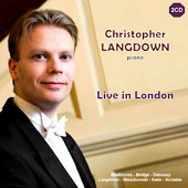 Christopher Langdown - Live in London