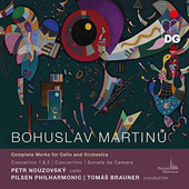BOHUSLAV MARTINU - Complete Works for Cello and Orchestra