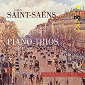 CAMILLE SAINT-SAENS - Piano Trios Op. 18 and 92