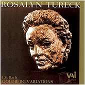 JS BACH - Goldberg Variations - Rosalyn Tureck