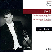 JS BACH - Sonatas & Partitas - James Ehnes
