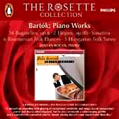 Bela Bartok - Various Piano Works