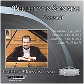 Ludwig van Beethoven - Piano Sonatas Nos. 3, 9, 10 and 25