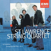 Robert Schumann - String Quartets Nos. 1 & 2 - St. Lawrence String Quartet