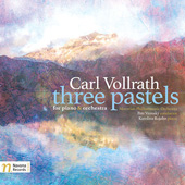 CARL VOLLRATH - Three Pastels for Piano and Orchestra